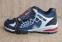 Sepatu spiderman / sepatu anak karakter spiderman berlisensi resmi