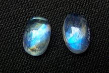 Magical Rainbow Moonstone Gems