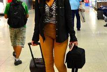 Mustard Pants Looks