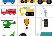 Transport/Pojazdy ⛵✈