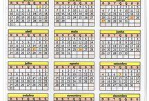 CRAFTS  calendário para imprimir / Diy  calendário 2016 para imprimir http://www.soniaeva.com.br/