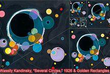elementary art - Kandinsky/Delauney / by Laine Van