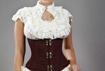 Waist Training Corsets / Waist training corsets to help you achieve an hourglass shape, it includes steel boned corsets with flat , double or spiral steel boning. all waist trainers have a modesty panel and laces at rear.