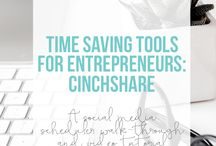 Productivity For Bloggers + Business Owners