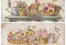 цветы винтаж