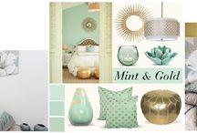 MINT GOLD COLLECTION / V naší půjčovně designového nábytku jsme pro vás vytvořili kolekci nábytku a dekorací MINT GOLD COLLECTION.