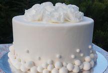 Свадебные торты с мастикой