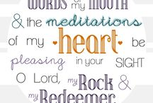 favorite psalms and verses to remember