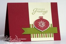 stampin up_Christmas / by Emily Watts Johnson