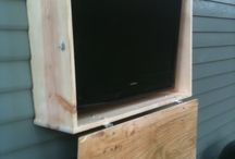 outdoor tv cabinets