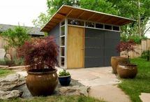 Garden Studio / Remodel ideas for our tired old greenhouse / by Erin Riordan