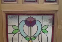 front door stained glass