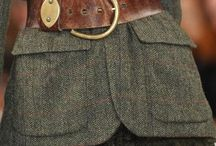 Tweeds, Wool, Highlands / Love it so much ........