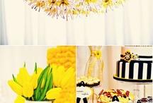 желтые цвета свадьбы