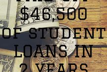 Student Debt / How to payoff student debt and college debt.