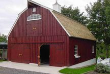 Gambrel Barns / Our Gambrel Barn takes traditional Gambrel Barn construction methods, and makes the most efficient use of the space. Its beauty is in both its form and function. / by Country Carpenters, Inc.