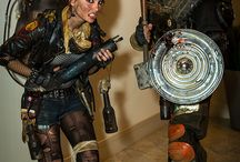 Post-apocalyptic Larp costume inspiration