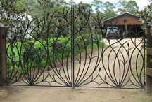 Wrought Iron Ballustrade