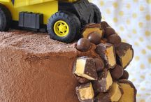 Boys birthday cake idea / Chocolate construction site