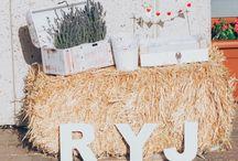 rincones boda rustica