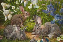 кролики зайчики