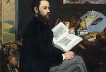 Peintre Edward Manet