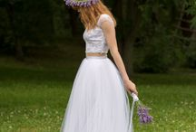 Things to wear at Weddings / #bridalwear #tulle #ombre