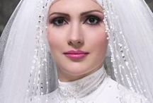 """Moeslem Wedding Gown / Modest and Modern  Dress for  """" Once in Your life Time """""""