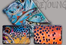 Gift Ideas for the Avid Angler - DeYoung Angling Accessories / Want to spoil that person in your life who loves fishing or the outdoors? Check out these perfect gift ideas from Derek DeYoung, contemporary fish artist and fly fishing enthusiast from Livingston, Montana.