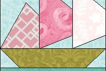 paper pieced quilt blocks