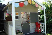 Cubby house fun / Play house, play houses, cubbyhouses, wendy houses, wendy house,