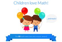 Math in action / Clever app for kids for iOS and Android!  Look on App Store and Google Play