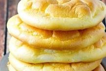 Pães e bolos