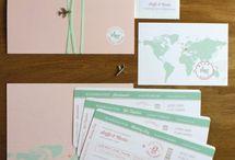 Weltkarte Hochzeit