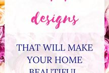 Colorful design / For the colorful design and decor lovers in all of us!  Inspiration and some DIYs as well.