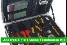 GOWE Anaerobic Field Quick Termination Kit Fiber optic kevlar cutter