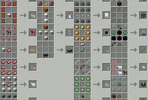 Minecraft crafting