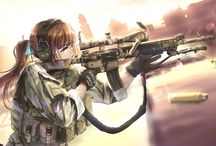 aanime Guns Girl