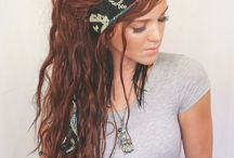 Festival Hair / Hair styles perfect for your favorite festival.