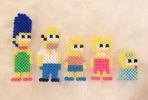 Perler Beads The Simpsons