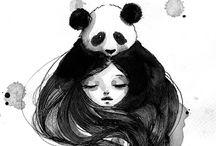 Panda♡ / Panda is love!