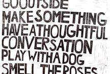 Inspiration - Words