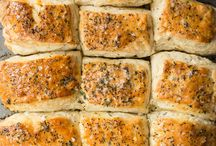 Breads, rolls, and biscuits