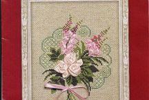 Schema punto croce bouquet 2