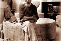 Constantin Brâncuși / Constantin Brâncuși was a Romanian sculptor, painter and photographer who made his career in France. Considered a pioneer of modernism, one of the most influential sculptors of the 20th-century, Brâncuși is called the patriarch of modern sculpture.