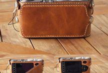 camera leather case