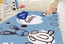 Kids rugs / detské personalizovane koberce