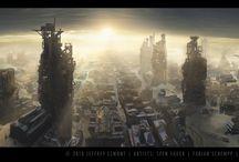 Sci-Fi&future art