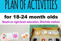 Toddlers educational activities