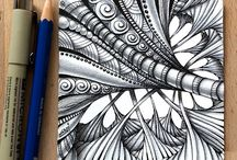 Doodle and Zentangle Tutorials